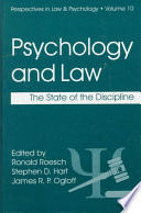 Psychology and Law Book