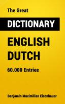 The Great Dictionary English - Dutch Pdf/ePub eBook