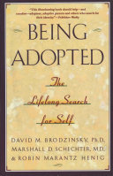 Download Being Adopted Book