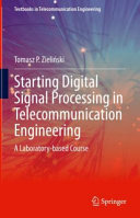 Starting Digital Signal Processing in Telecommunication Engineering
