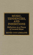 Music  Tendencies  and Inhibitions