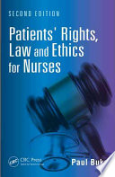 Patients Rights Law And Ethics For Nurses Second Edition