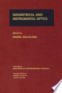 Geometrical and Instrumental Optics