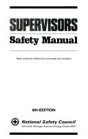 Supervisors Safety Manual Book