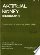 Artificial Kidney Bibliography