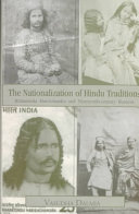 The Nationalization of Hindu Traditions