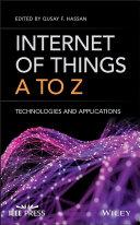 Internet of Things A to Z Pdf/ePub eBook