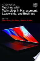 Handbook of Teaching with Technology in Management  Leadership  and Business Book