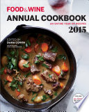 Food & Wine Annual Cookbook 2015