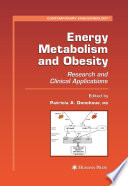 Energy Metabolism And Obesity Book PDF
