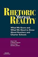 Rhetoric vs. Reality Pdf/ePub eBook