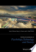 The Wiley Handbook Of Psychology Technology And Society Book PDF