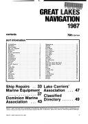 Great Lakes Navigation