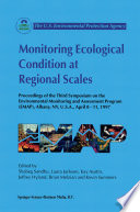 Monitoring Ecological Condition At Regional Scales Book PDF