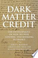 Dark Matter Credit