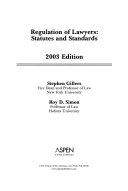 Regulation Of Lawyers