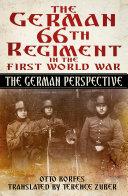 German 66th Infantry Regiment in the First World War