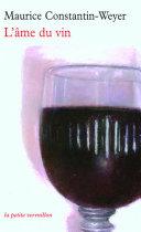 Pdf L'âme du vin Telecharger
