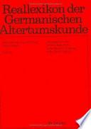 Reallexikon der germanischen Altertumskunde  , Band 26