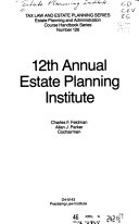 Annual Estate Planning Institute