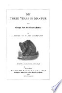 My Three Years in Manipur and Escape from the Recent Mutiny Pdf/ePub eBook