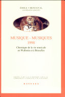 Musique-musiques 1998