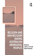 Religion and Non-Religion among Australian Aboriginal Peoples