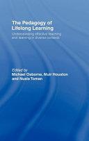 The Pedagogy of Lifelong Learning