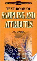 Text Book of Sampling and Attributes