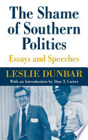The Shame of Southern Politics