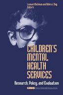 Children s Mental Health Services