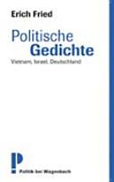 Politische Gedichte Vietnam Israel Deutschland Erich