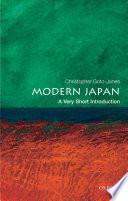 Modern Japan  A Very Short Introduction