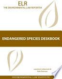 Endangered Species Deskbook