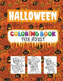 Halloween Coloring Book for Adult Book