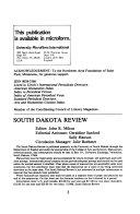 South Dakota Review