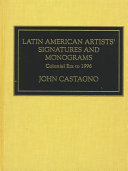 Latin American Artists  Signatures and Monograms