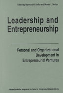 Leadership and Entrepreneurship