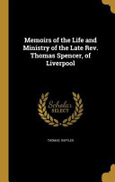 MEMOIRS OF THE LIFE & MINISTRY