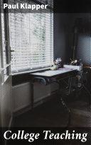 College Teaching Pdf/ePub eBook