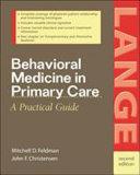 Behavioral Medicine In Primary Care Book PDF