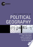 Key Concepts In Political Geography