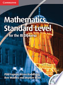 Mathematics For The Ib Diploma Standard Level With Cd Rom