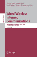 Wired Wireless Internet Communications