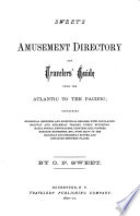 Sweet s Amusement Directory and Travelers  Guide