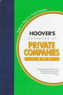 Hoover's Handbook of Private Companies