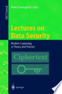 Lectures on Data Security
