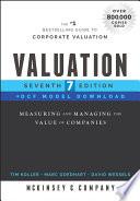 Valuation  DCF Model Download Book