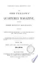 The Odd Fellows  Quarterly Magazine
