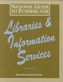 National Guide To Funding For Libraries And Information Services Book PDF